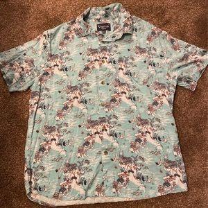 Hawaiian ocean scuba shirt